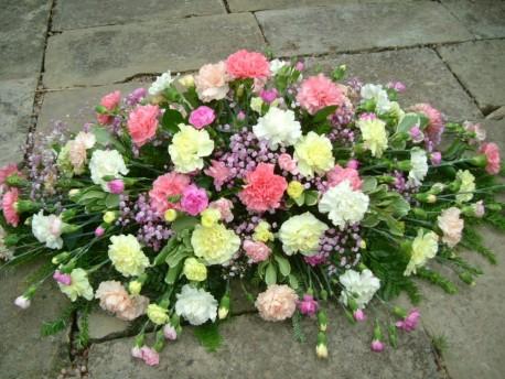 Carnation Coffin Spray