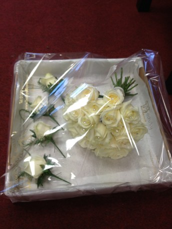 Bouquet ready to go
