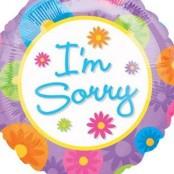 I'm Sorry Balloon