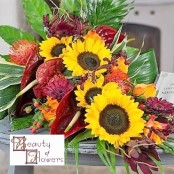 Autumn Cut Flower Sheaf S016