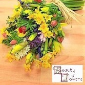 Mixed Spring Cut Flower Sheaf