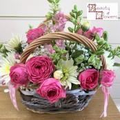 Pink Dream Basket
